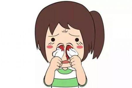 儿童鼻出血的自我处置和预防